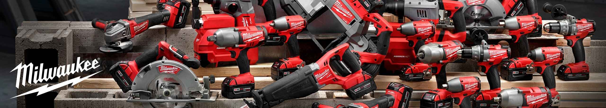 More about Milwaukee power tools at Niehaus Lumber