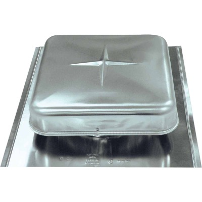 Airhawk 50 In. Mill Galvanized Steel Square Roof Vent