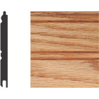 House of Fara 5/16 In. W. x 3-1/8 In. H. x 8 Ft. L. Unfinished Solid Red Oak Wainscot (6-Pack) Image 1