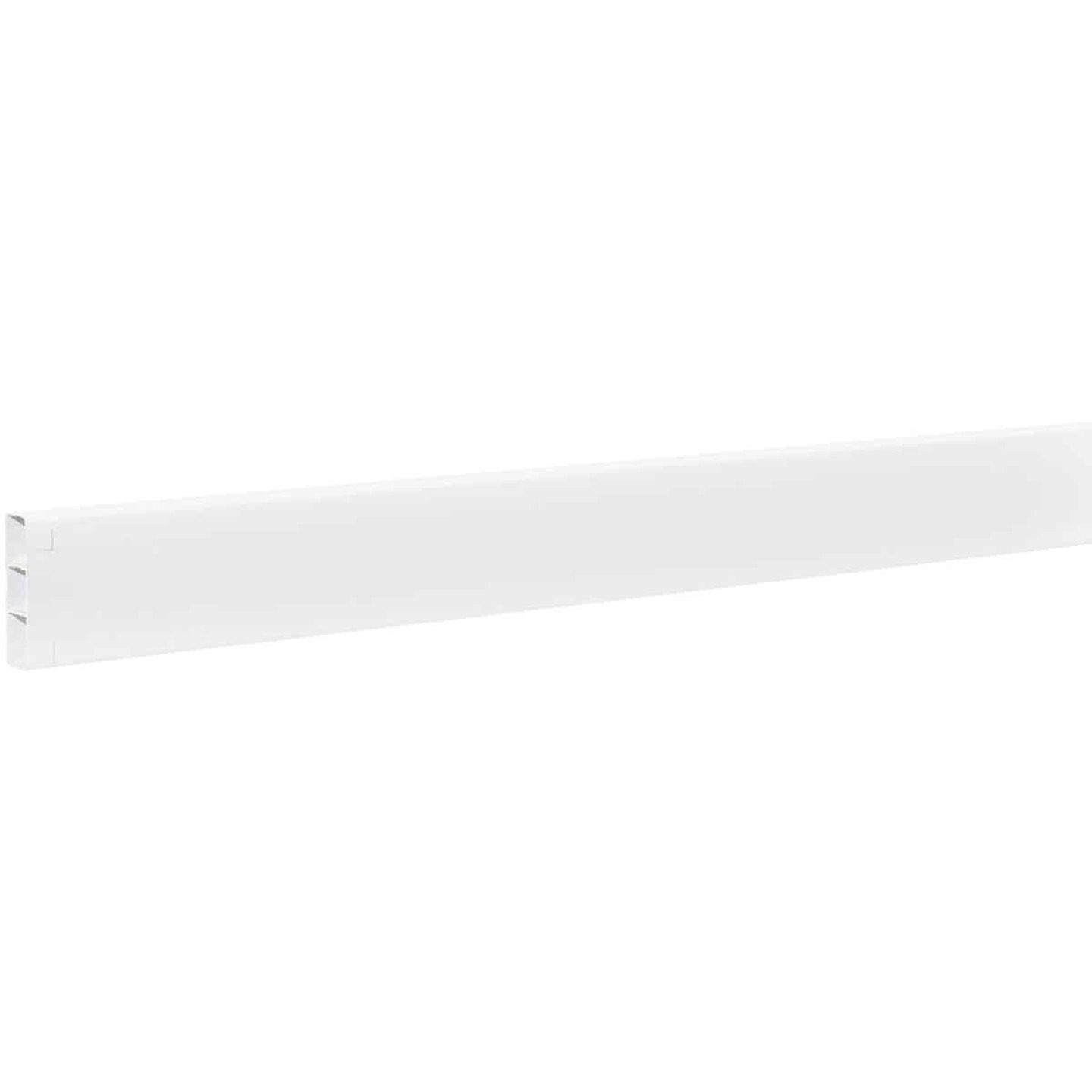 Outdoor Essentials 2 In. x 6 In. x 96 In. White Vinyl Fence Rail Image 2