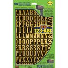 Hy-Ko 1 In. Numbers, Letters & Symbols (107 Count) Image 1
