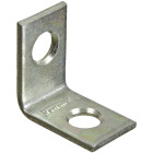 National Catalog V115 3/4 In. x 1/2 In. Zinc Steel Corner Brace (4-Count) Image 1