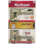 Kwikset Signature Series Polished Brass Tustin Entry Door Lever with Smartkey Image 5