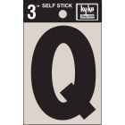 Hy-Ko Vinyl 3 In. Non-Reflective Adhesive Letter, Q Image 1