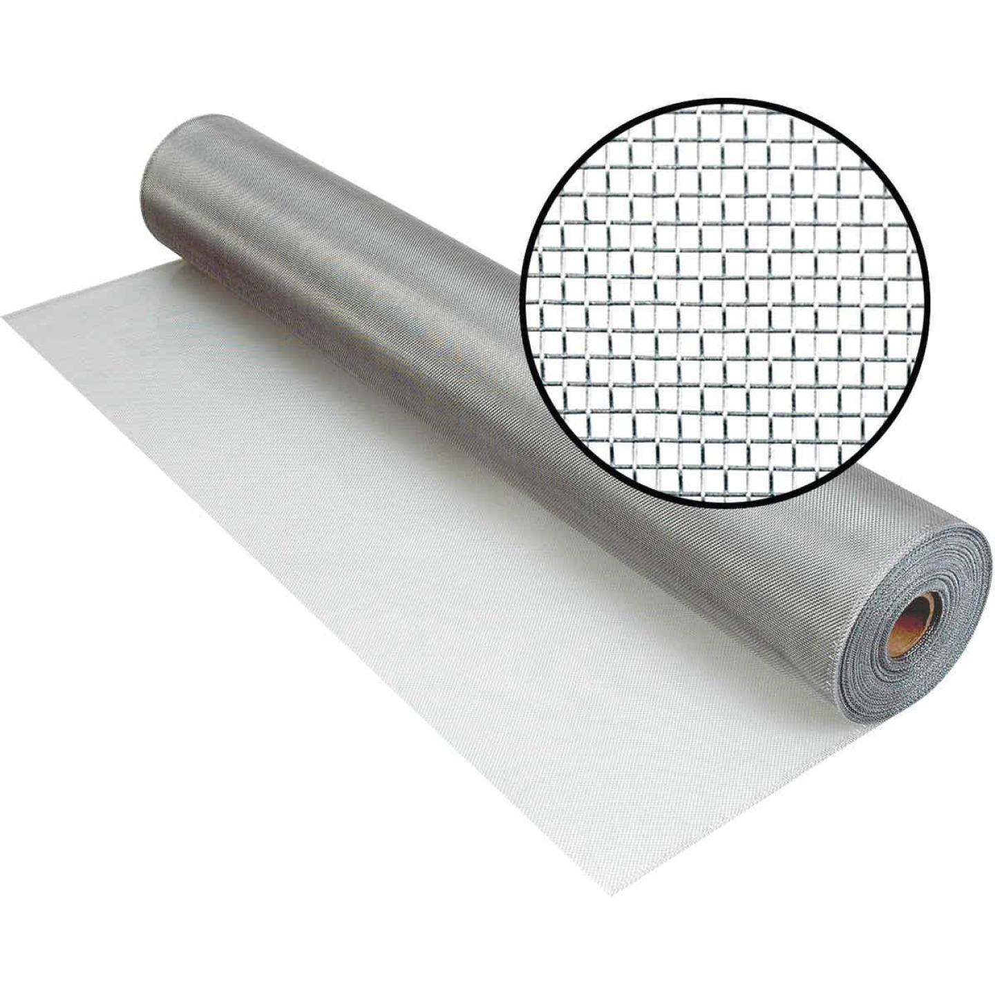 Phifer 36 In. x 100 Ft. Brite Aluminum Screen Image 1