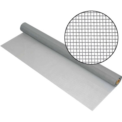 Phifer 36 In. x 100 Ft. Gray Fiberglass Mesh Screen Cloth