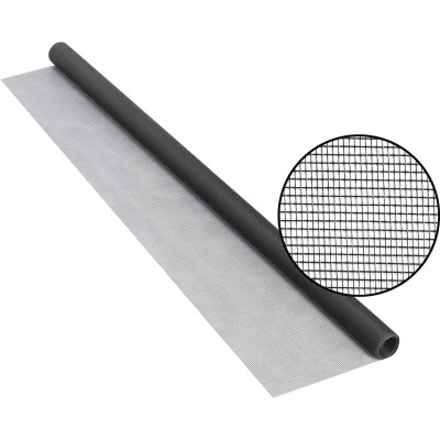 Phifer 36 In. x 84 In. Charcoal Fiberglass Screen Cloth Ready Rolls