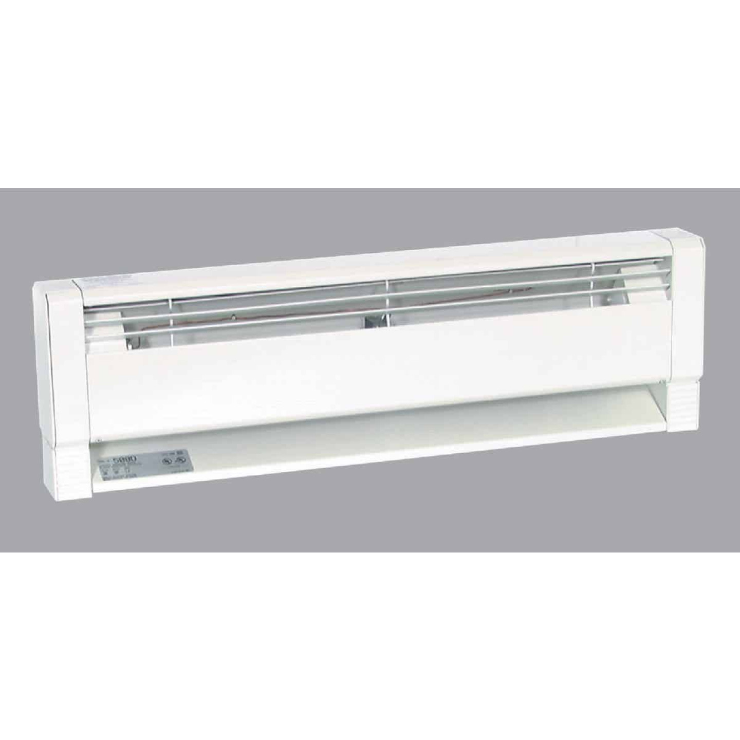 Fahrenheat 70 In. 1500-Watt 240-Volt Hydronic Electric Baseboard Heater, White Image 1