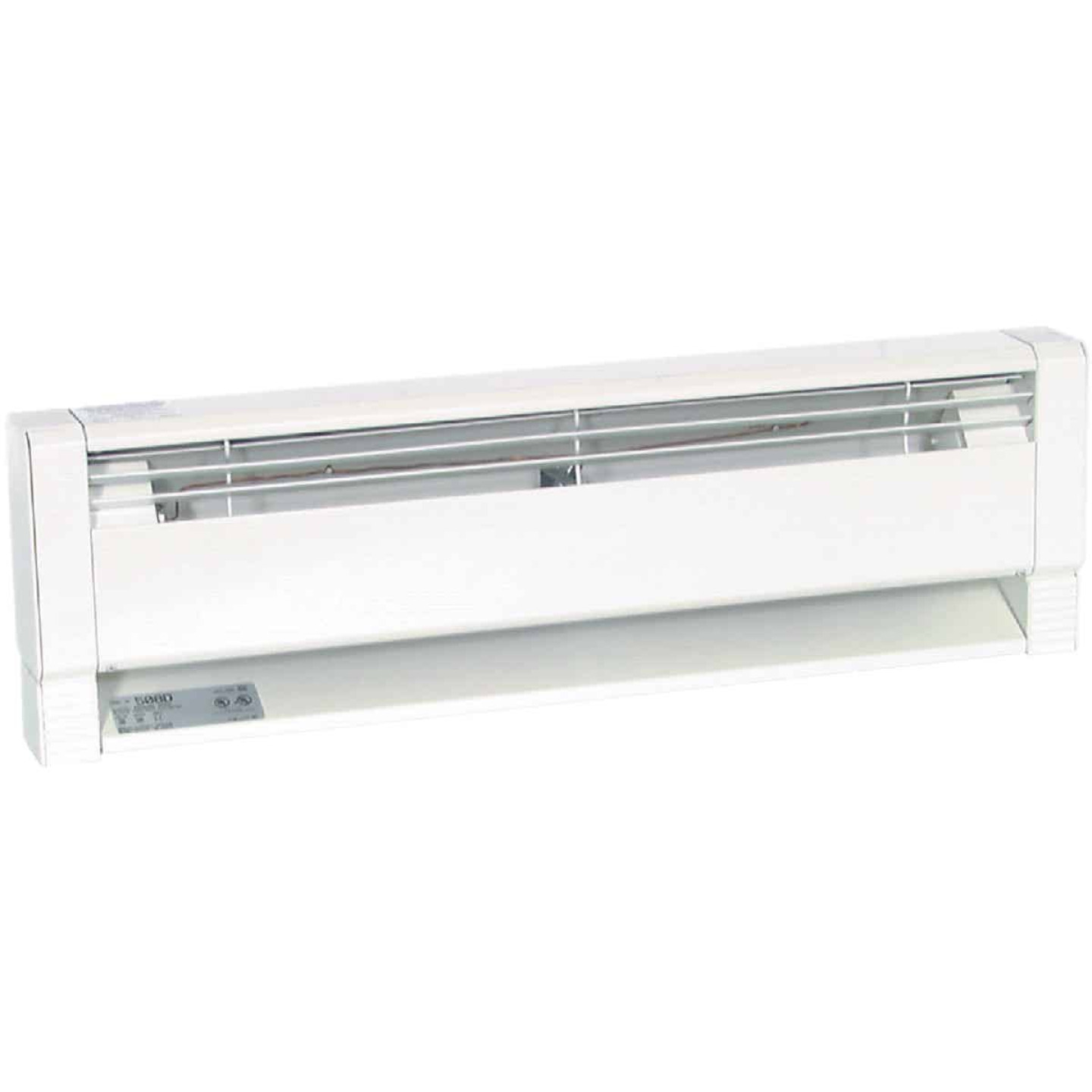 Fahrenheat 70 In. 1500-Watt 240-Volt Hydronic Electric Baseboard Heater, White Image 2
