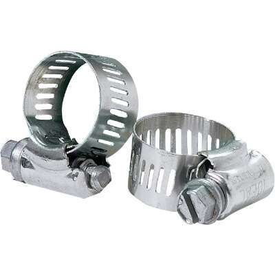 Ideal 3/8 In. - 7/8 In. 67 All Stainless Steel Hose Clamp