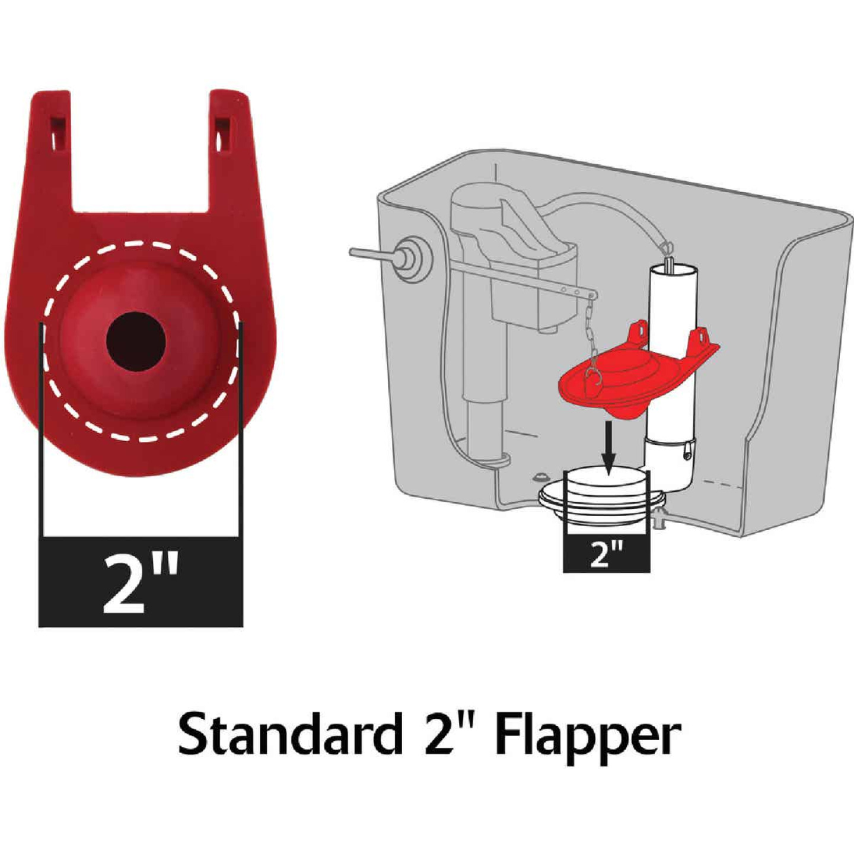 Korky 3 to 5 GPF Adjustable Flush Valve and Premium Flapper Kit Image 4
