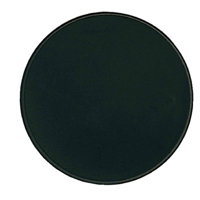 Range Kleen Round Metal Black Burner Cover (4-Count)