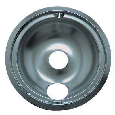 "Range Kleen Electric 8"" Style B Round Chrome Drip Pan"