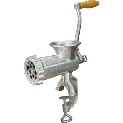 Weston #10 Deluxe Heavy-Duty Manual Meat Grinder (Tinned)