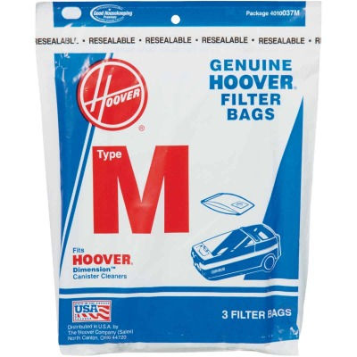 Hoover Type M Standard Vacuum Bag (3-Pack)