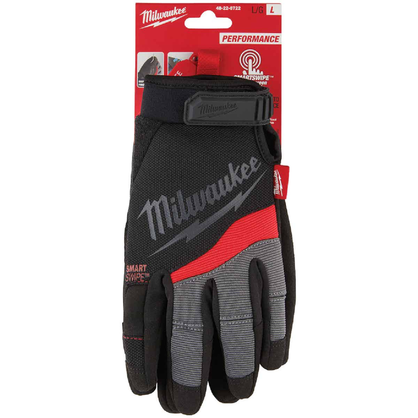 Milwaukee Performance Men's Medium Synthetic Work Glove Image 3